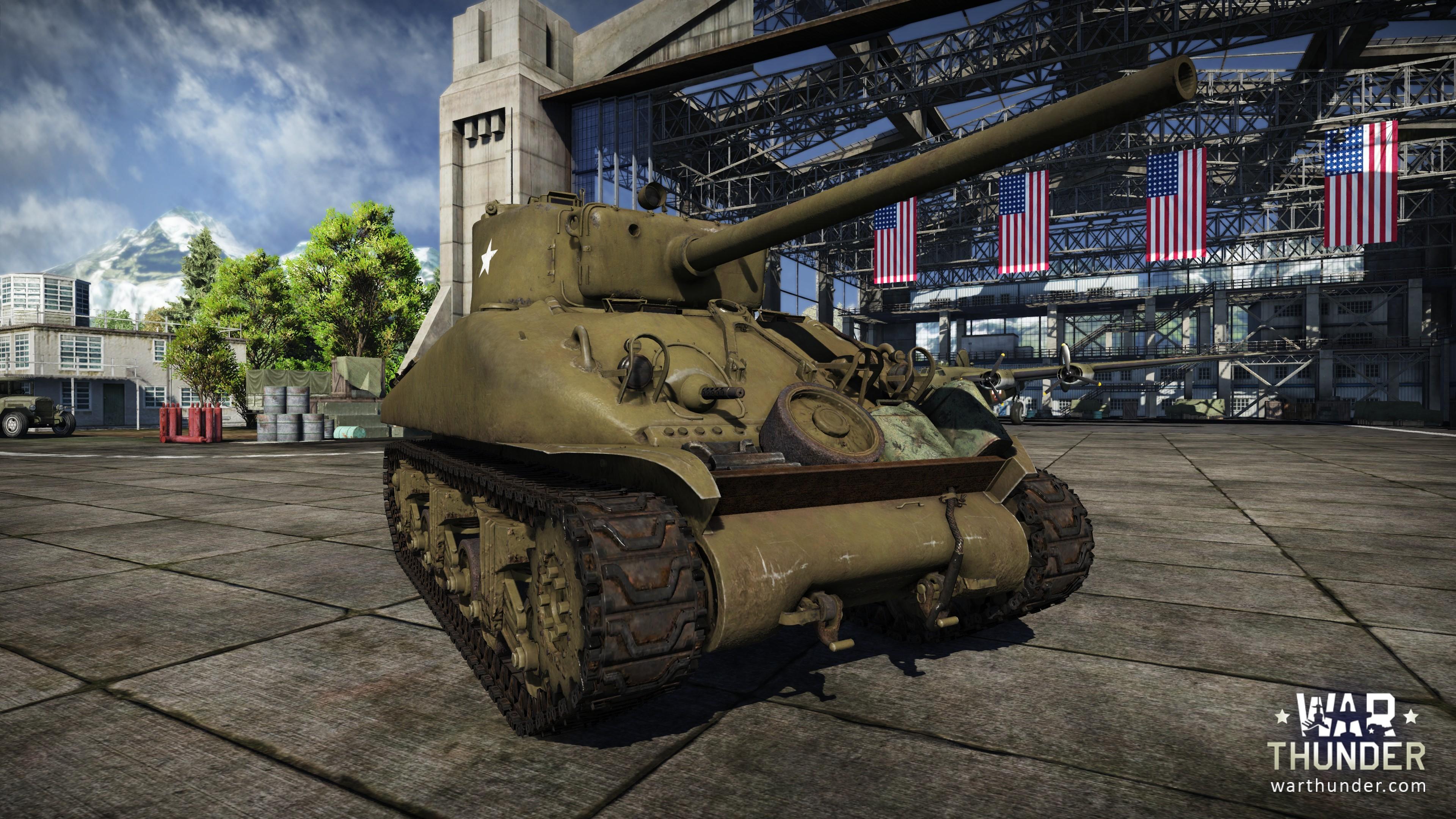 War Thunder: Free2Play-MMO rüstet mit US-Panzern in Steel Generals auf