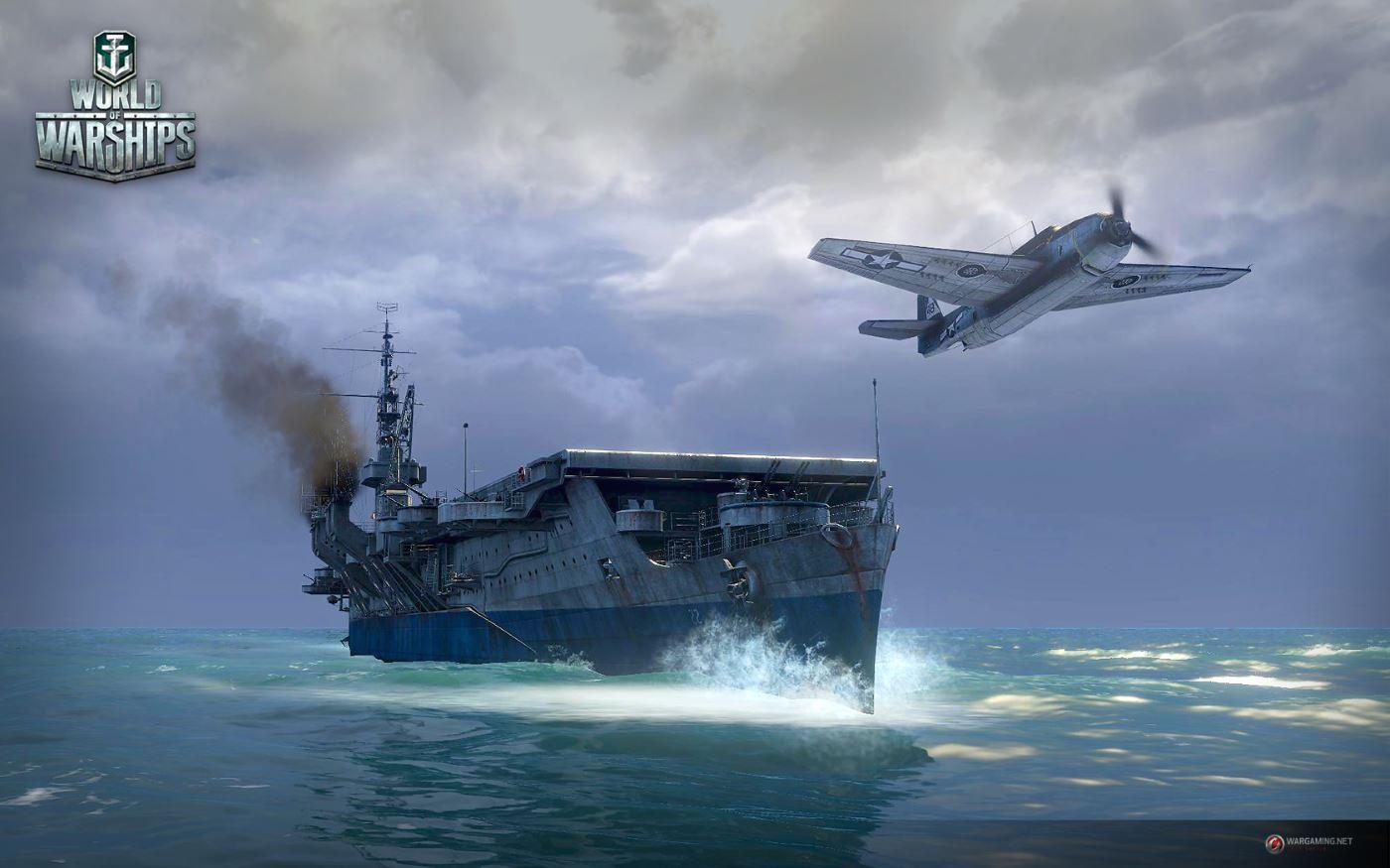 World of Warships: Neues Entwickler-Video stellt Flugzeugträger vor