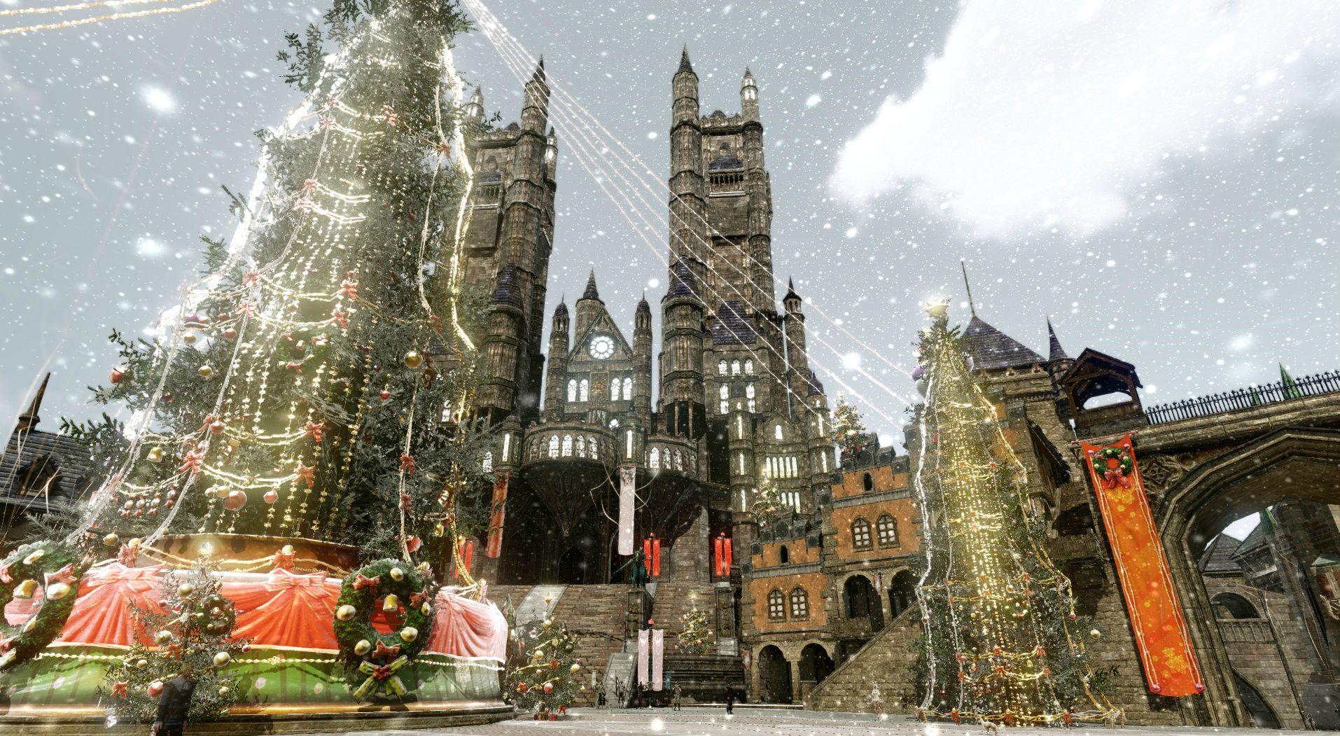 ArcheAge: Auf dem Testserver schneit's – und Weihnachten wird teuer