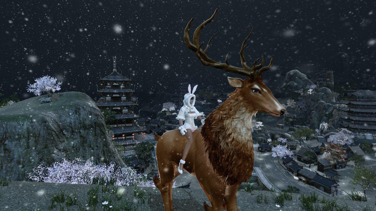 ArcheAge feiert Weihnachten: Spieler nutzen die Snowbox für Screens