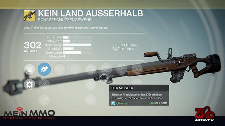 Destiny: Kein Land Außerhalb – lohnt sich die Retro-Sniper?