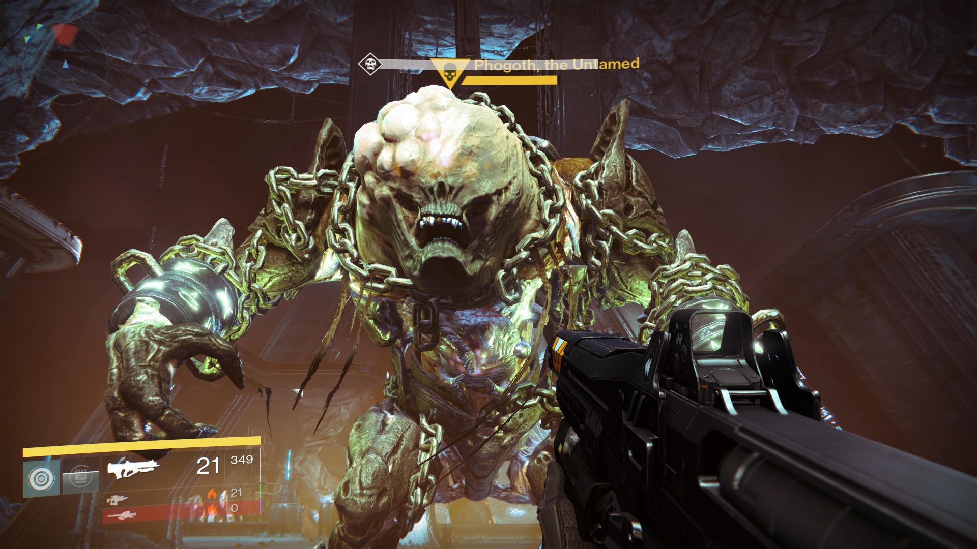Destiny Nightfall: Wöchentlicher Dämmerungsstrike geht gegen Phogoth
