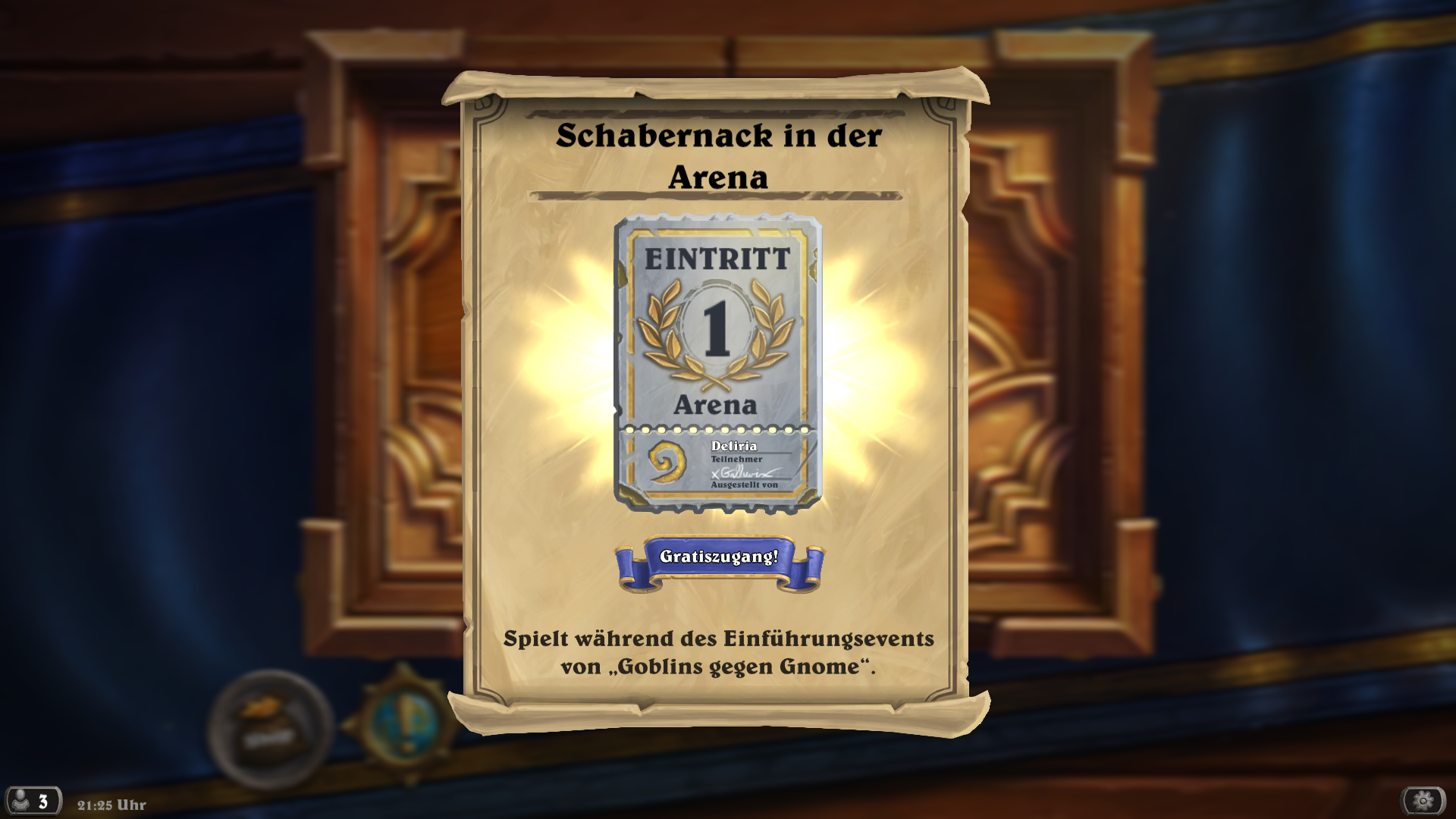 Hearthstone: Jetzt Freirunde in der Arena drehen! Mit den neuen Karten