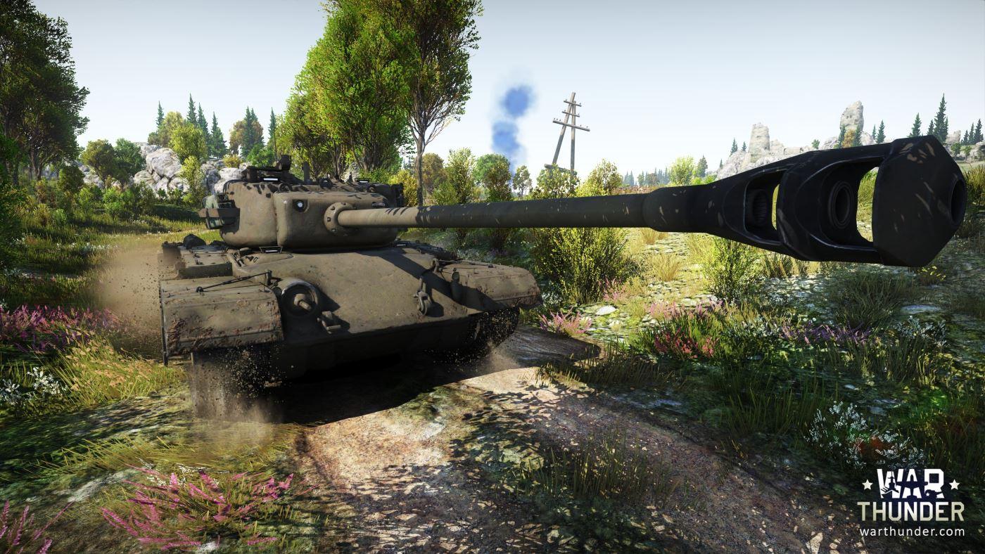 """War Thunder: Update 1.45 """"Steel Generals"""" bringt die ersten US Panzer ins Rollen"""