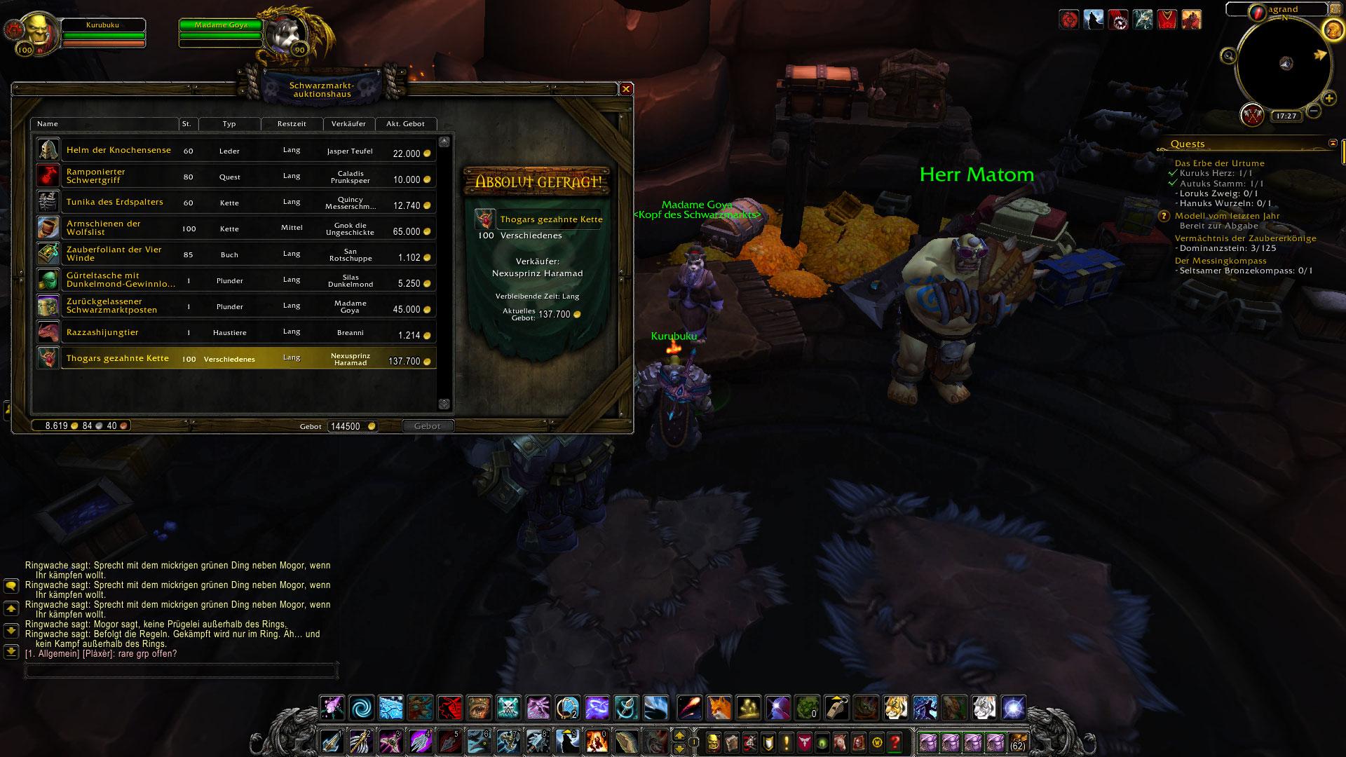 World of Warcraft: Ja, es gibt ein neues Schwarzmarkt-AH in WoD und so fliegt Ihr in 45 Sekunden hin