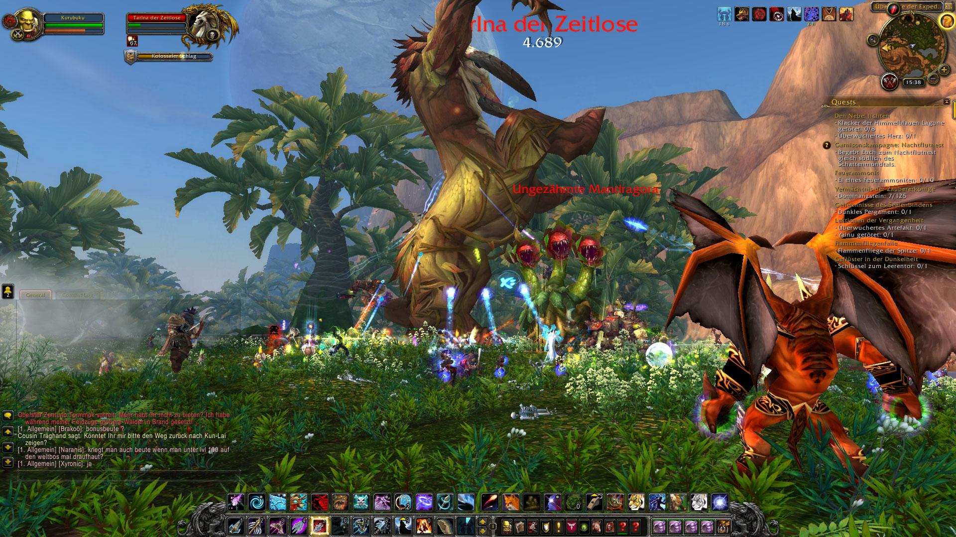 World of Warcraft Hotfixes: Für Tavernen-Missionen braucht es den Endboss