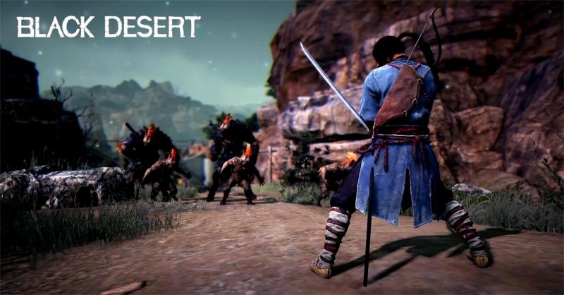 Black Desert: Im Februar kommt der Samurai als neue Klasse