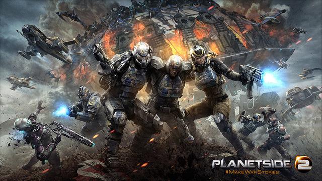Planetside 2: Closed Beta auf Playstation 4 beginnt am 20. Januar