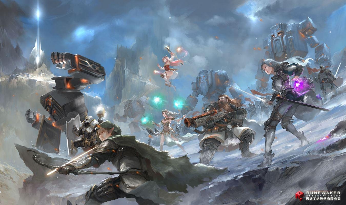 Embergarde: Neues MMORPG im Diablo Stil angekündigt, von Runewaker