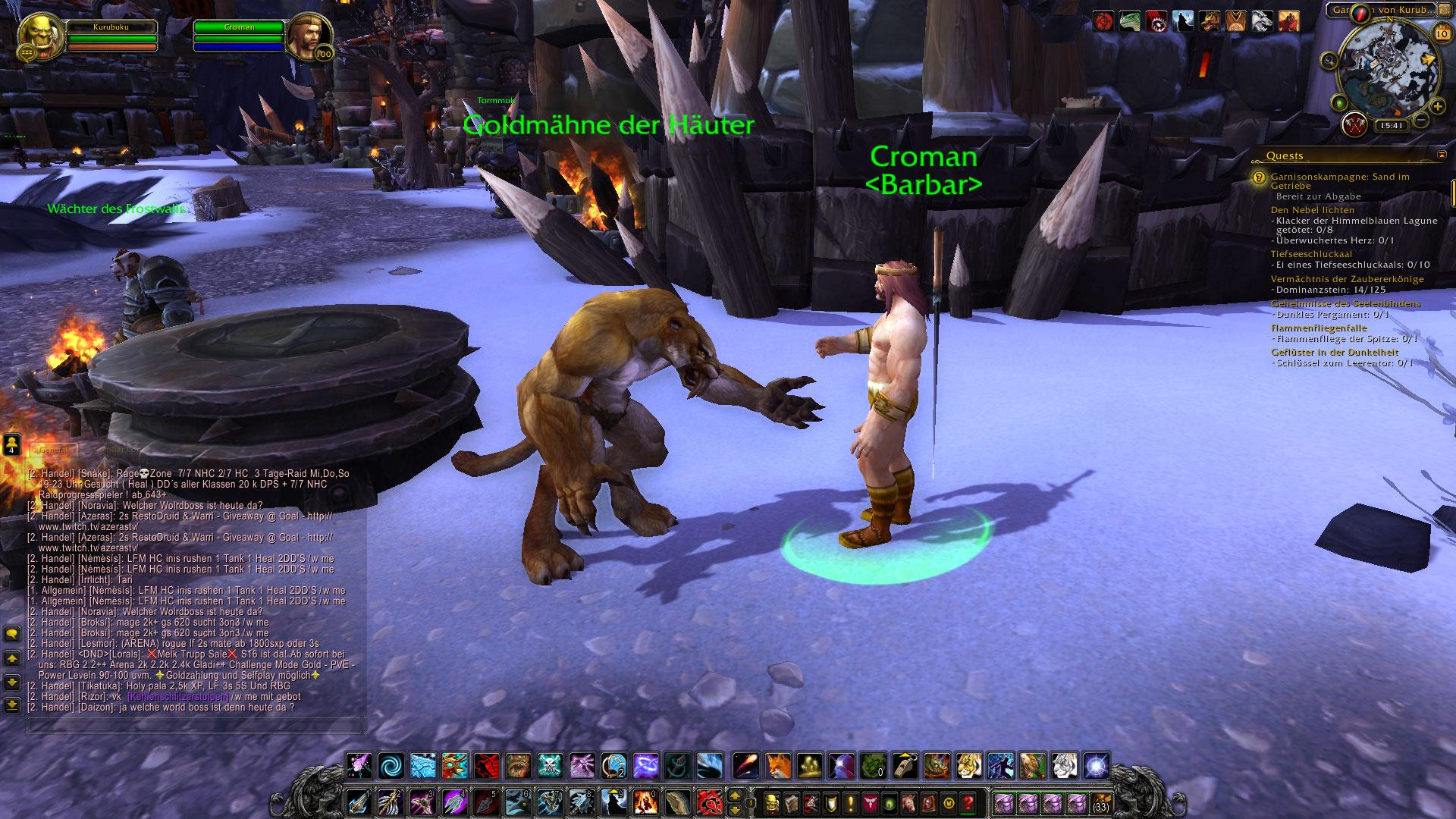 World of Warcraft: In 6.1. gibt's fehlende Anhänger für Gold