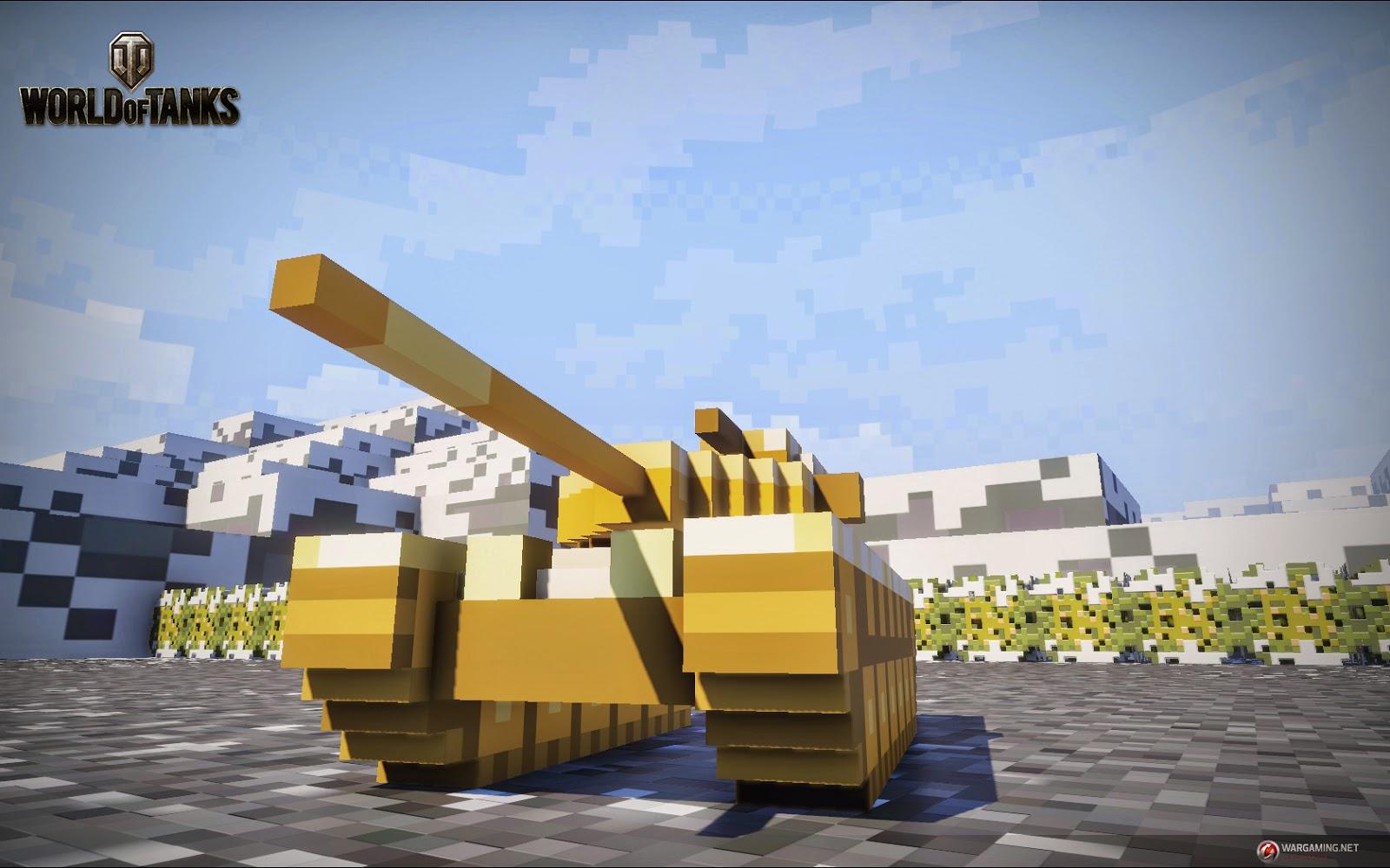 World of Tanks: Im 8-Bit-Look sehen Pixelpanzer bisschen aus wie Hipster-Tron