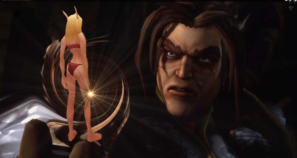 World of Warcraft: Leibwächter im Miniformat, Blutelfe als Barbiepuppe
