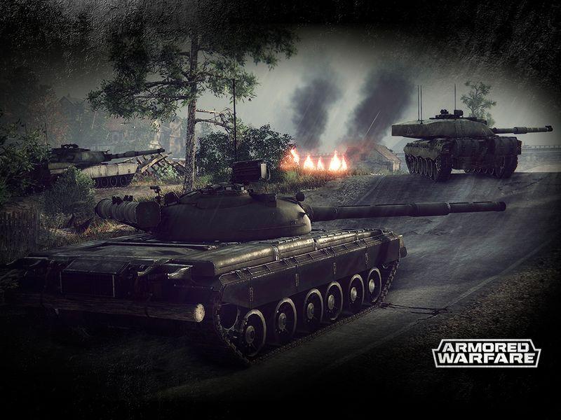 Armored Warfare: 24/7 Panzerfahren im Early-Access