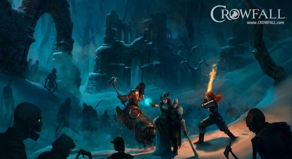 Crowfall will ein neues Top-MMORPG werden, braucht ein Top-Interface