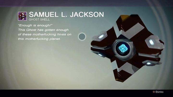 Destiny: Ghost – Nachricht von Sam(uel L. Jackson)