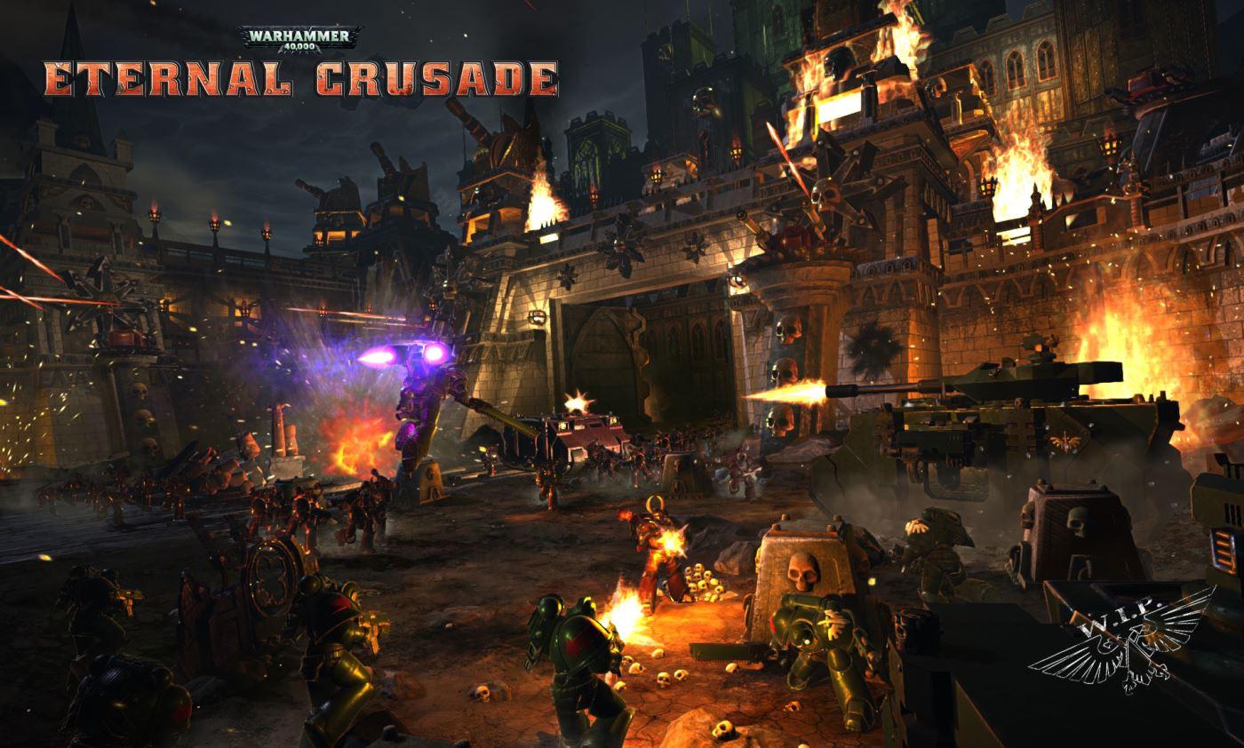 Eternal Crusade Gameplay