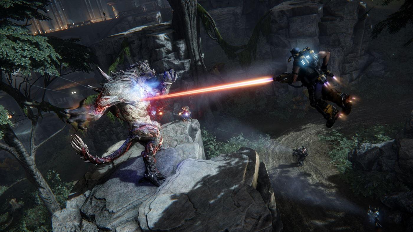 Evolve: 3 GB-Monster-Patch direkt zum Release