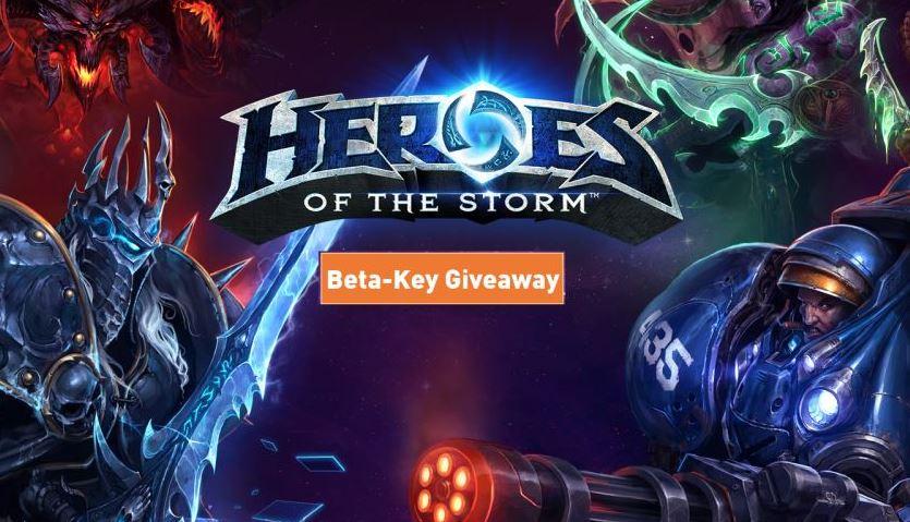 Heroes of the Storm: 10 Beta-Keys zu gewinnen!