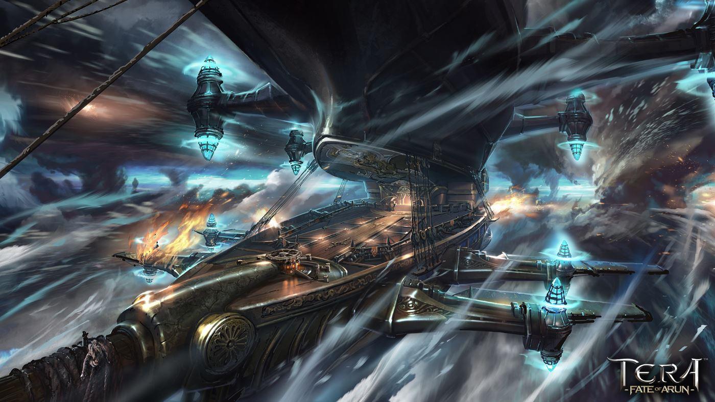TERA: Das fliegende Luftschiff im Video, Fate of Arun Teil 2 erscheint bald
