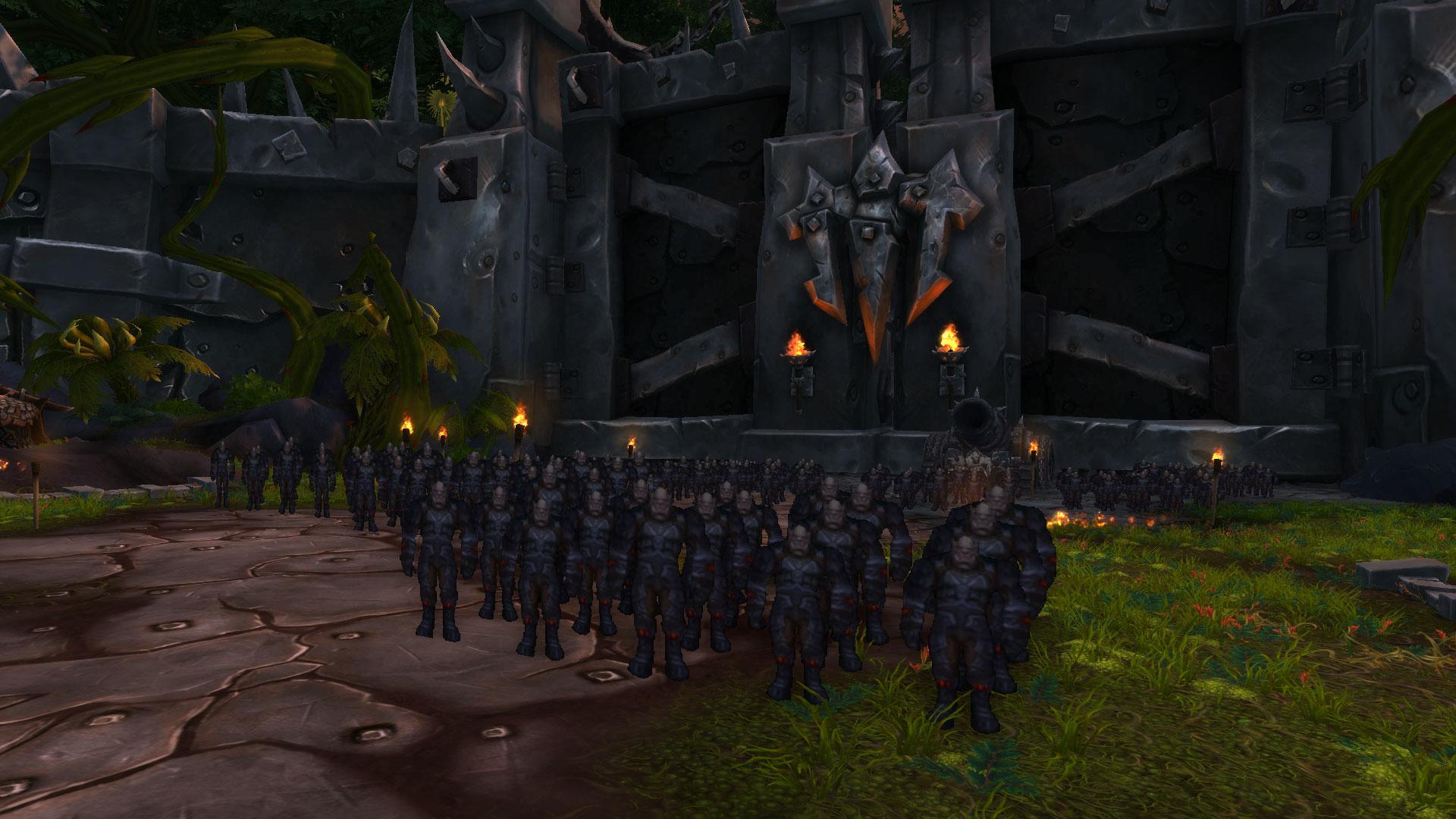 World of Warcraft: Grommash schlägt Spieler mit Papp-Armee in die Flucht