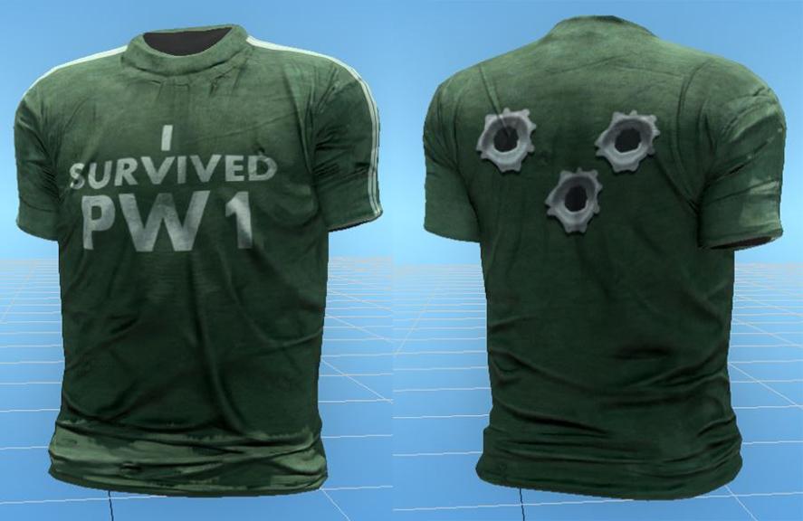 H1Z1 rückt virtuelle T-Shirts raus für Überlebende des Player-Wipes