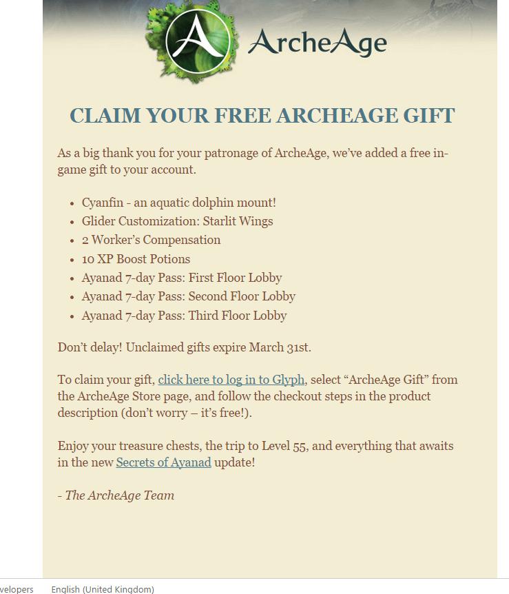 ArcheAge-Gold-Angebot