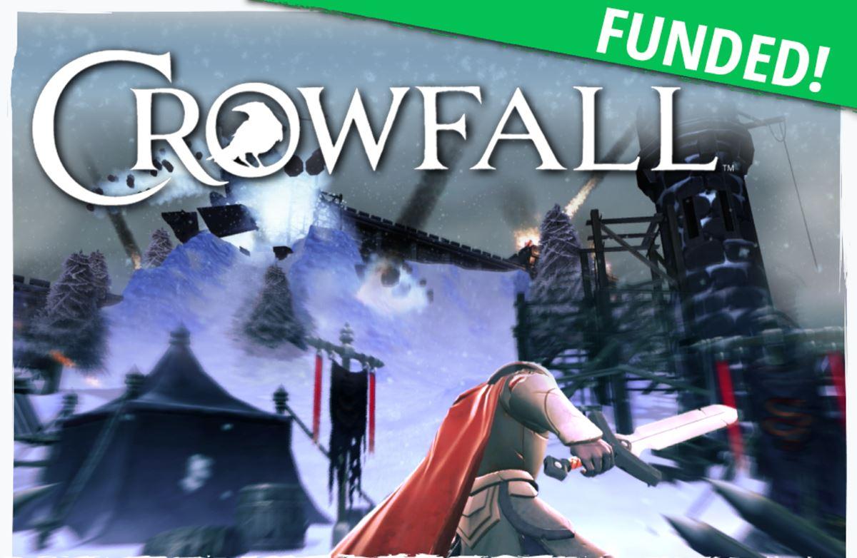 Crowfall: Kickstarter Finanzierung erfolgreich