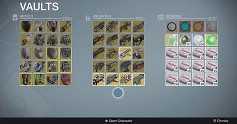 Destiny: Und darum brauchen wir einen größeren Tresor