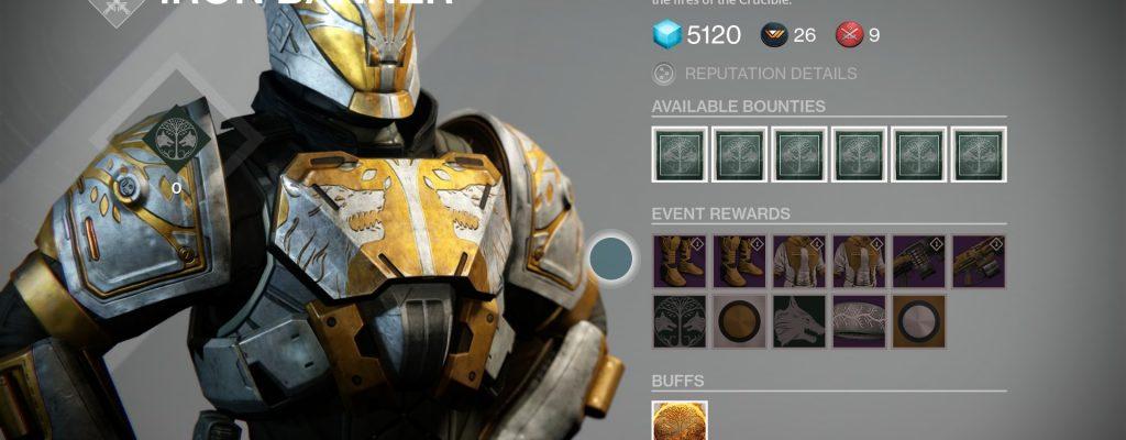 Destiny: Eisenbanner startet am 17. März, sind das die Items?