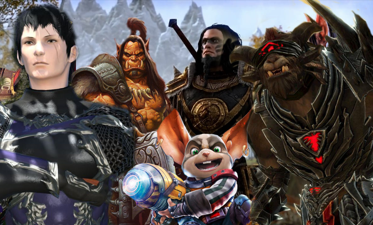 State of Play: Wo stehen die MMORPGs WoW, ESO, GW2, FF14 und Black Desert Anfang 2017?