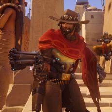 Overwatch Held McCree