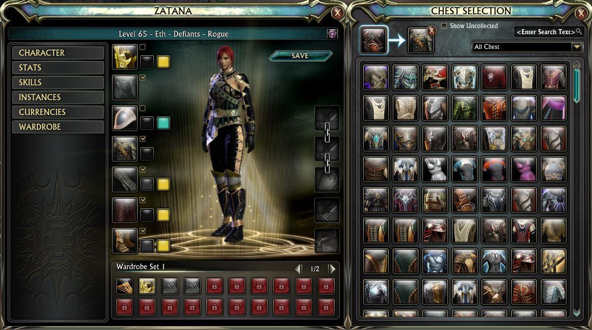 Rift steigt auf Garderoben-System von Guild Wars 2 um; WoW und TESO zögern noch