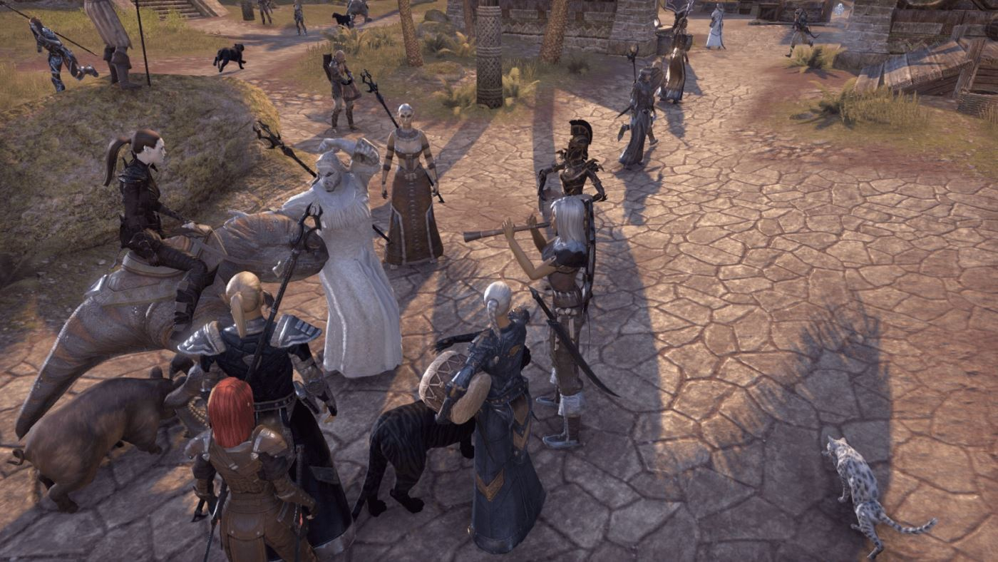 The Elder Scrolls Online nerft Möpse, lässt aber Männer ins Brautkleid schlüpfen
