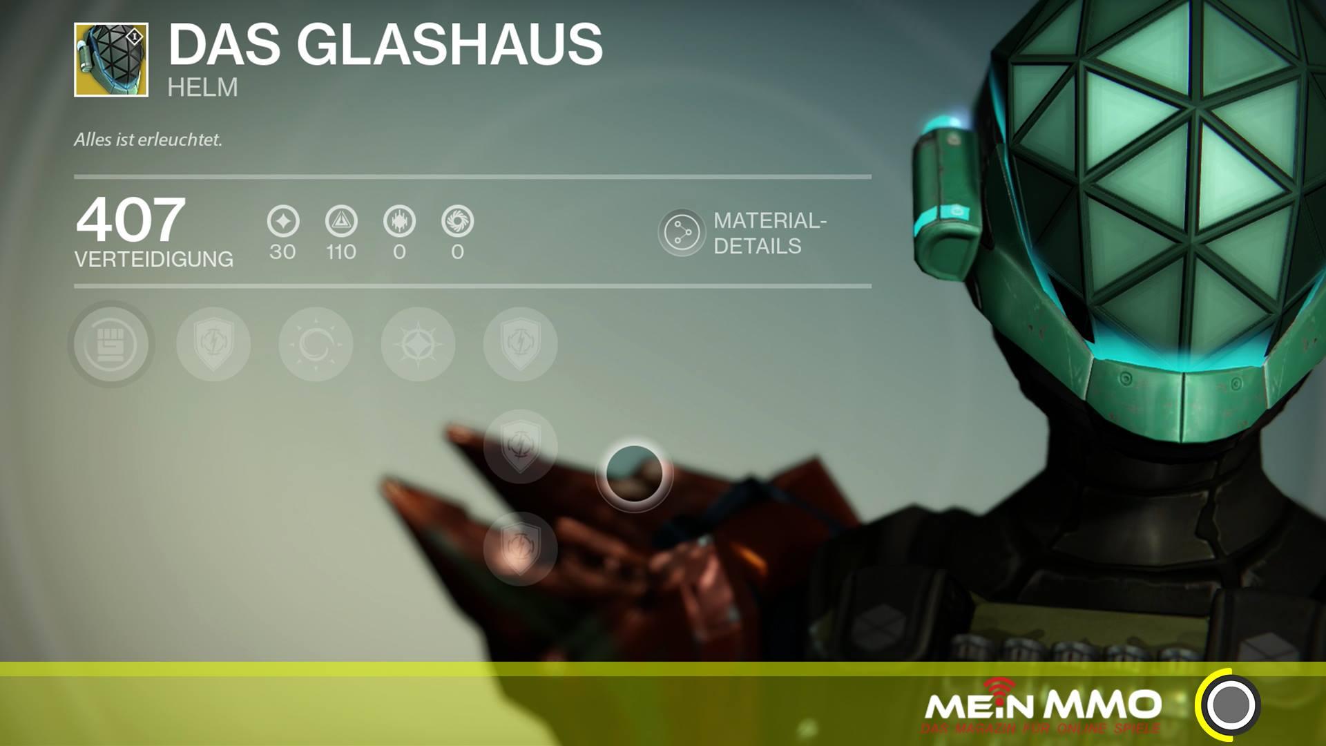 """Destiny: Was taugt der Titanen-Helm """"Glashaus""""?"""