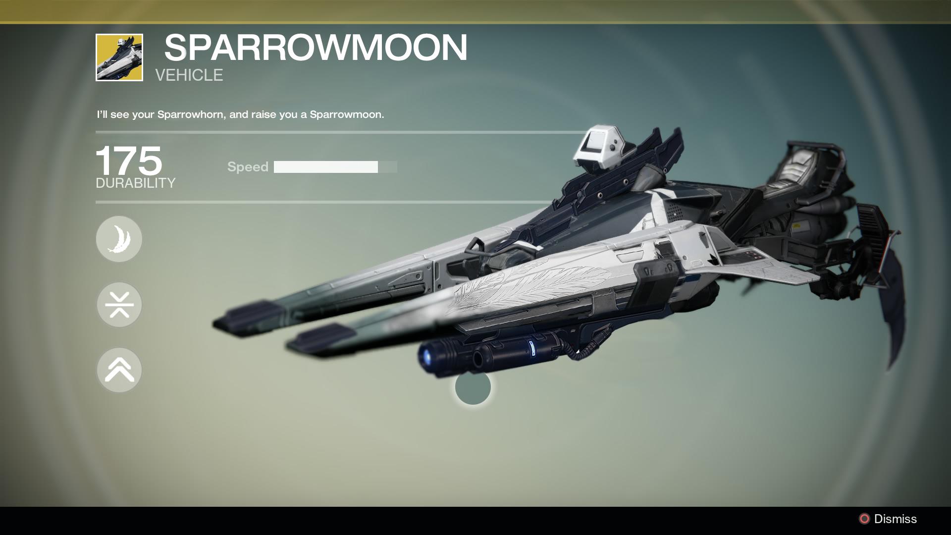 Destiny Fan-Trend: Exotische Waffen als Sparrows