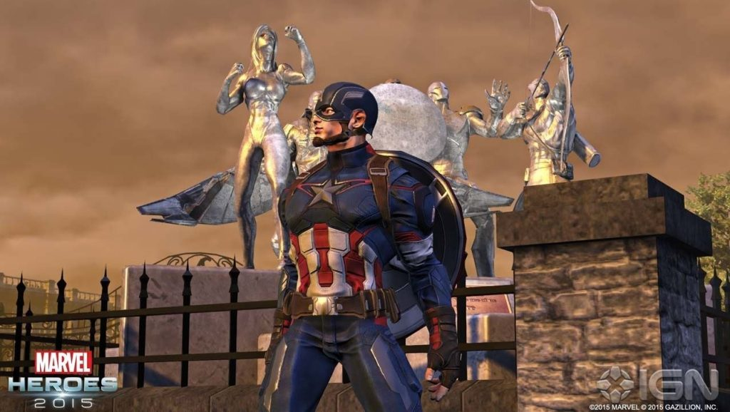 Marvel Heroes Captain America 2