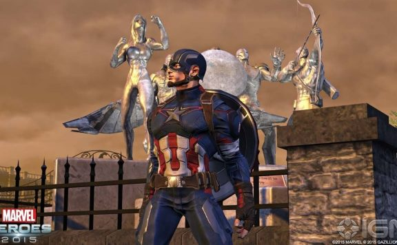 Marvel Heroes Captain America 2