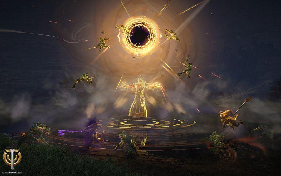 Einmal Gott sein – Die göttlichen Fähigkeiten des MMORPGs Skyforge