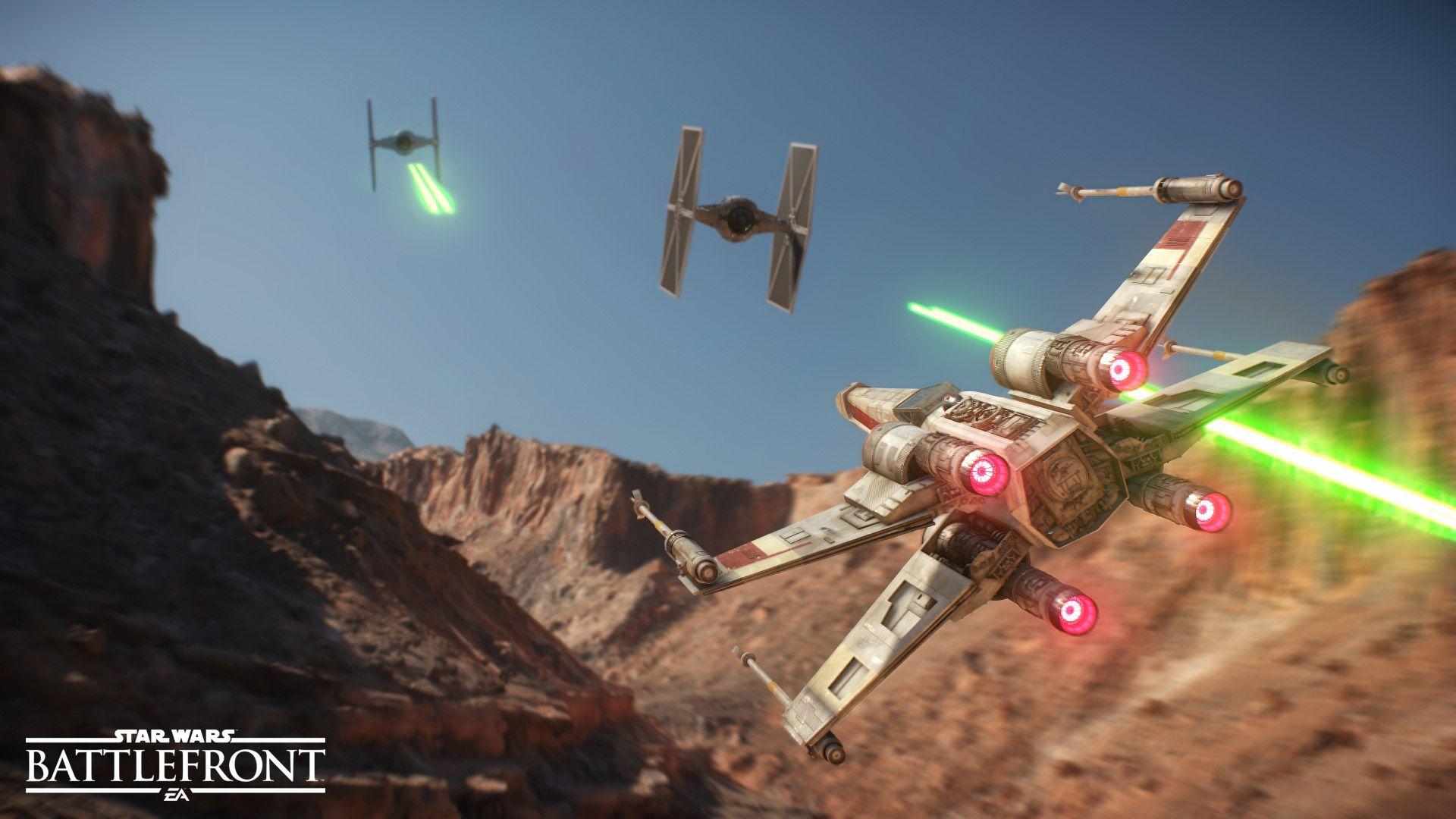 Star Wars Battlefront: Neue steuerbare Raumschiffe und Fahrzeuge bestätigt