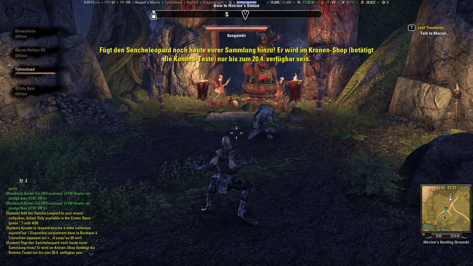 The Elder Scrolls Online: Neon-Schild stört Mittelalter-Idyll