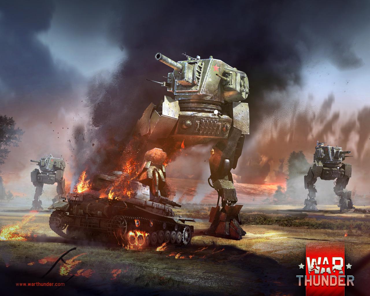 War Thunder wird mit dem Panzerkampfläufer ST-1 nun endlich authentisch