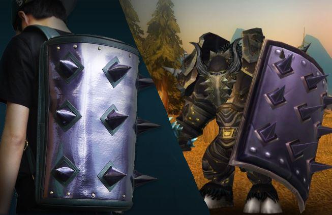 World of Warcraft: Skurril – Kult-Schild als trendiger Rucksack