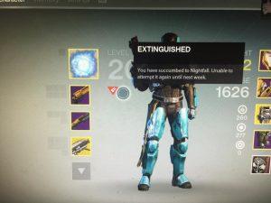 Destiny-Extinguished