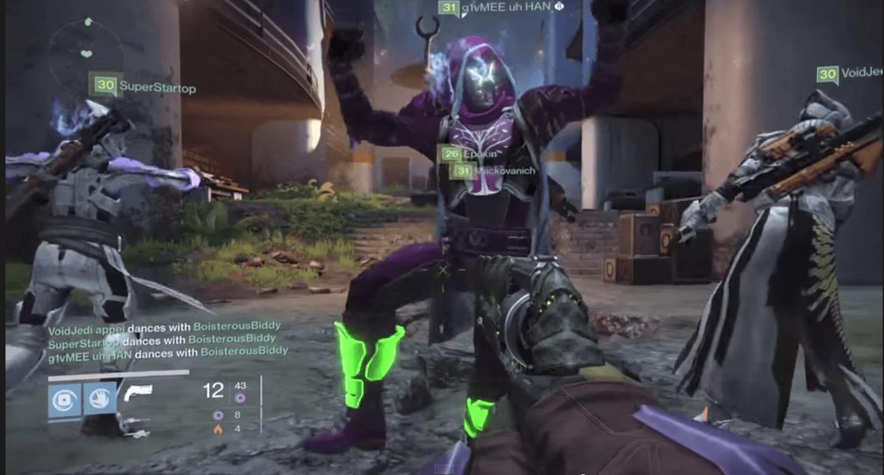 Destiny: Videos der Woche umfassen duschende und sitzende Spieler