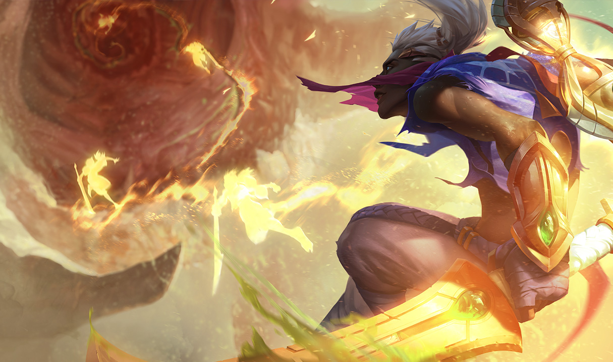 """League of Legends: Ekko bekommt einen """"Prince of Persia""""-Skin"""