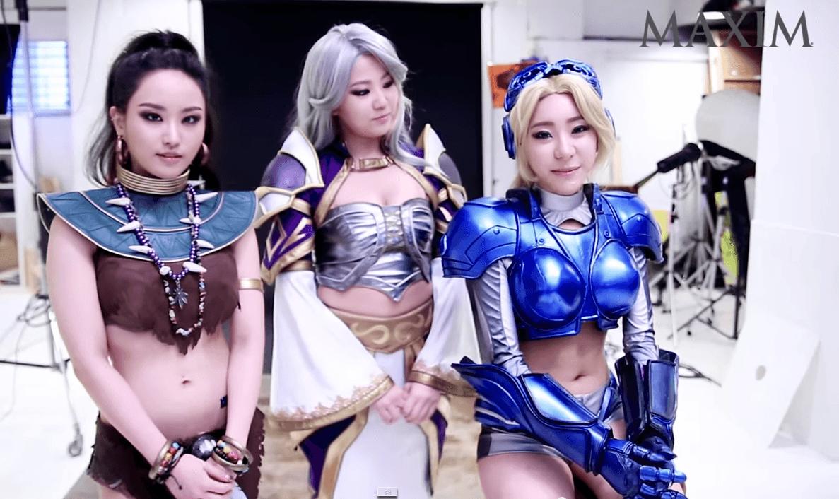 In Korea bewerben sie Heroes of the Storm irgendwie … anders