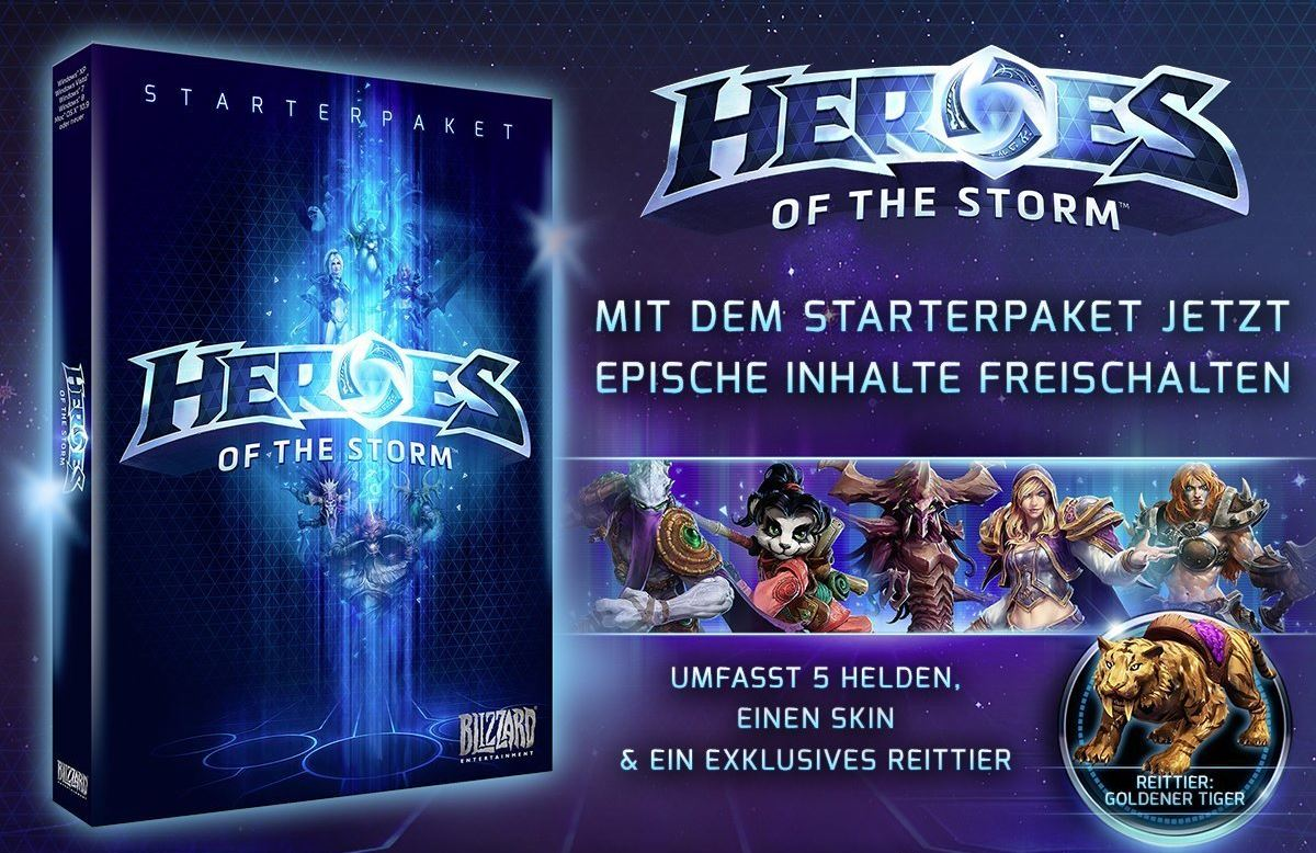 Heroes of the Storm Starterpaket