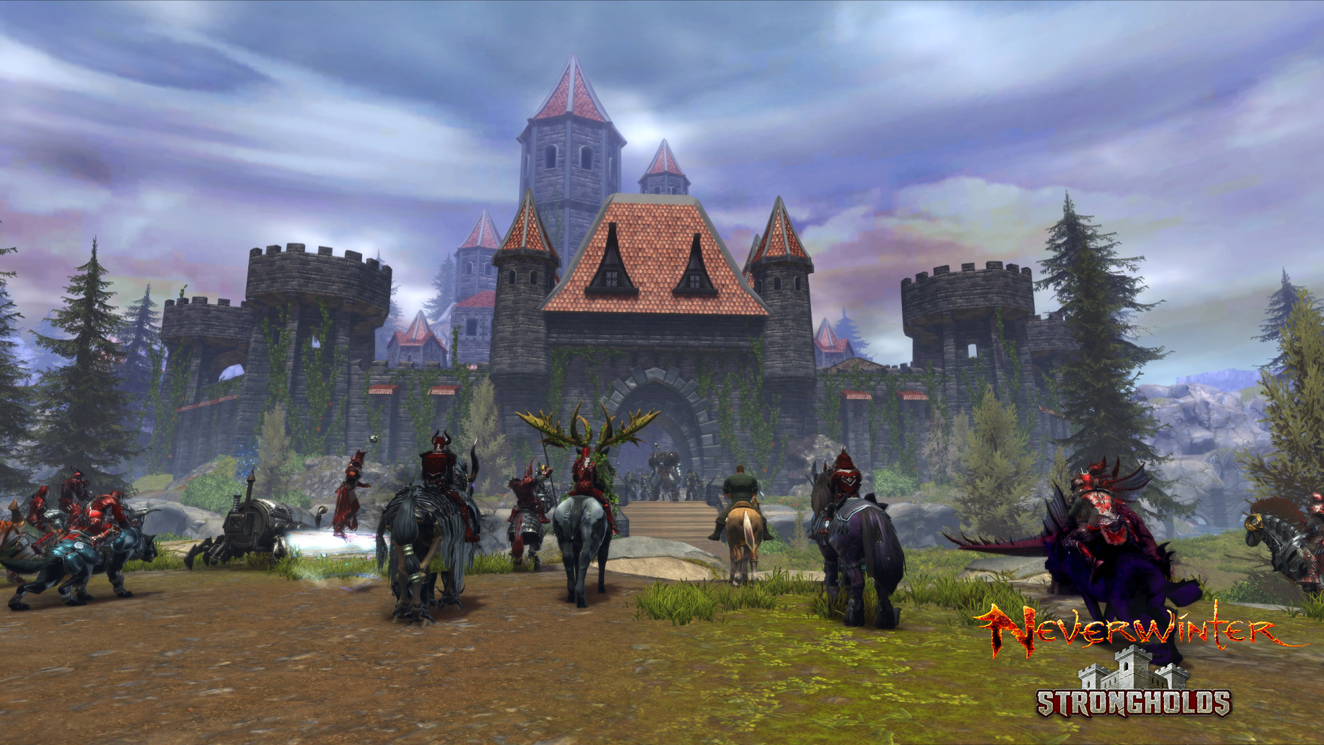 Neverwinter: Free2Play-MMO bekommt Gilden-Festungen in einem PvP-Modul