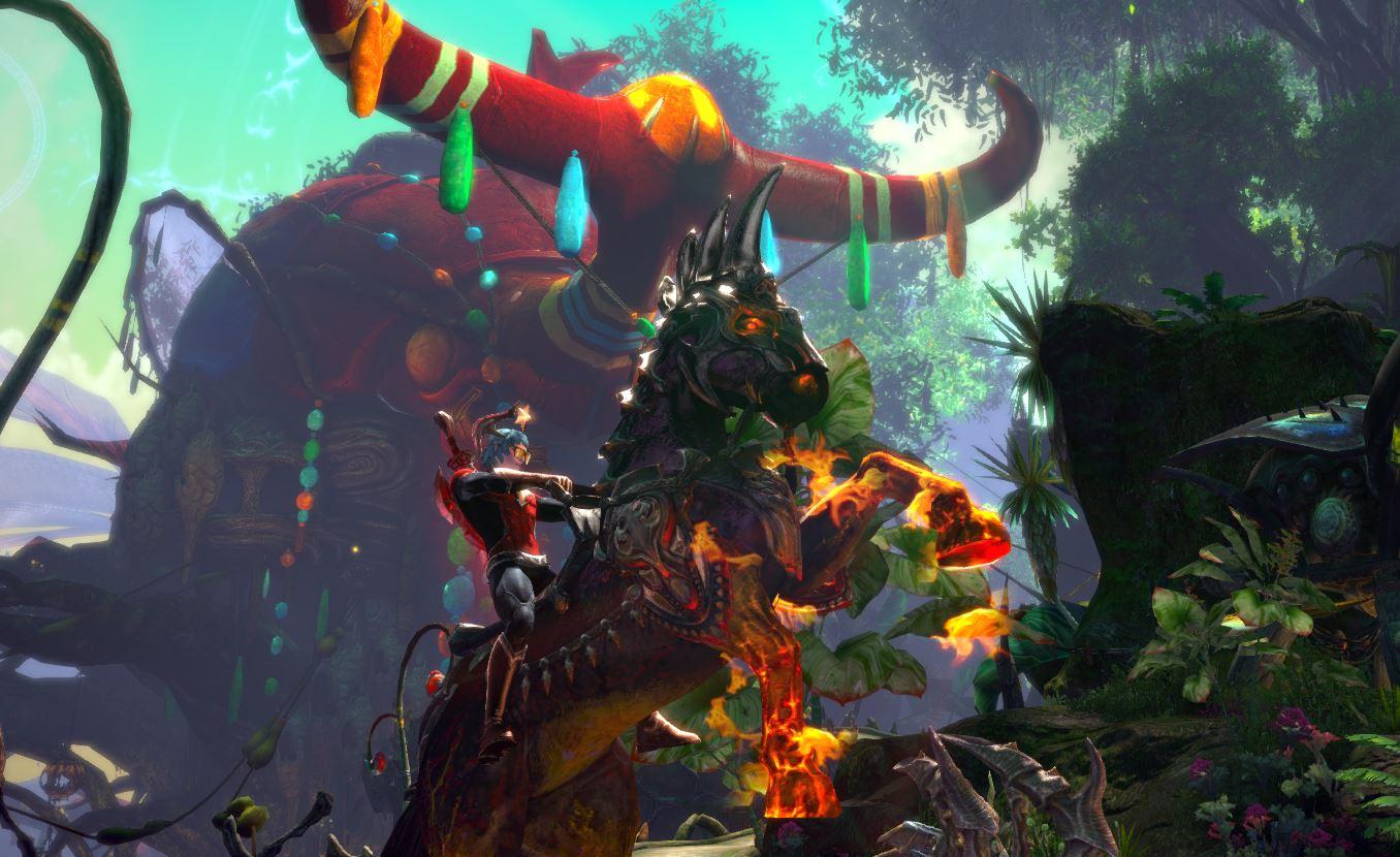 TERA: Gameforge leiht Reittier zum Geburtstag aus