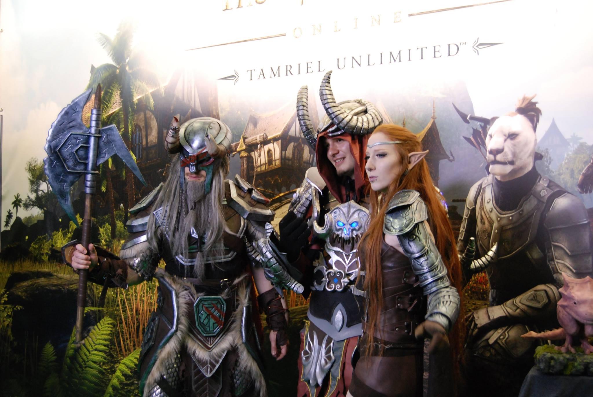 The Elder Scrolls Online mit viel Cosplay, wenig Infos auf der RPC
